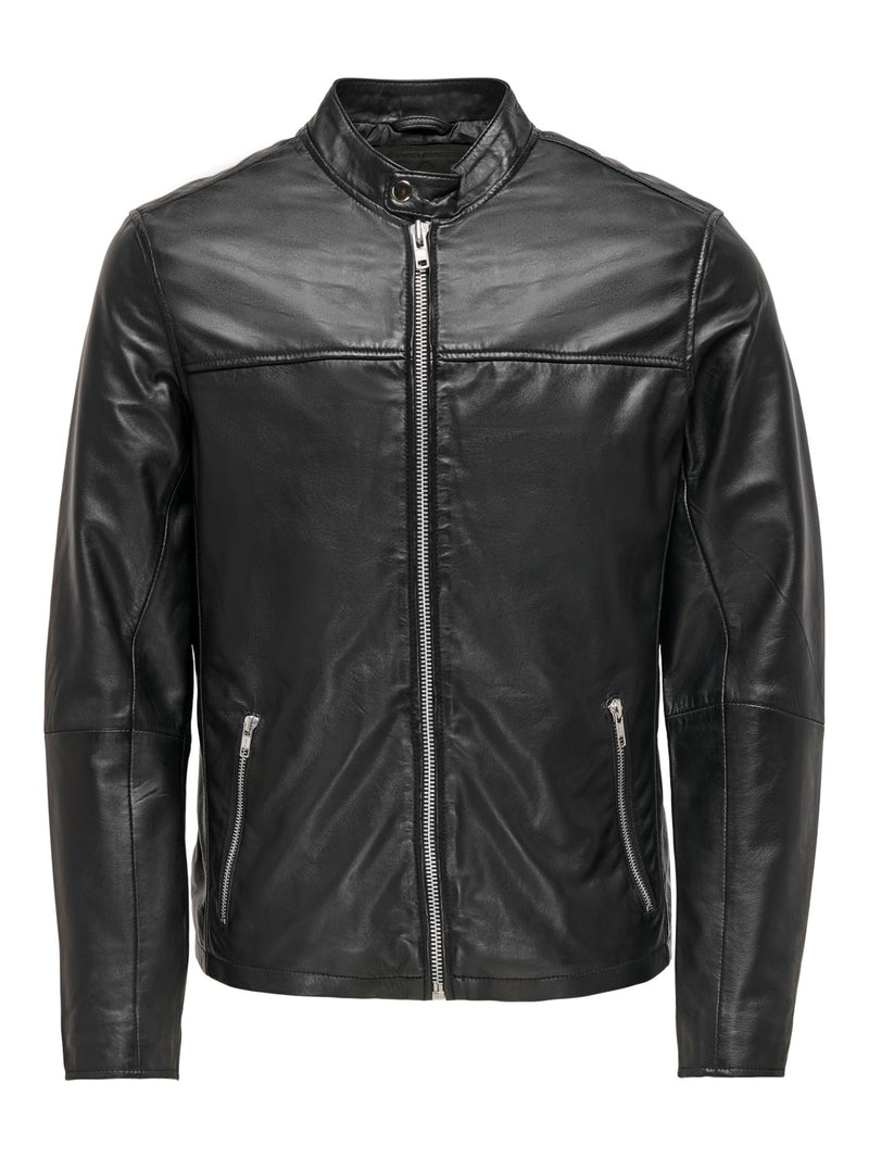 ONSDEAN LEATHER JACKET 9131