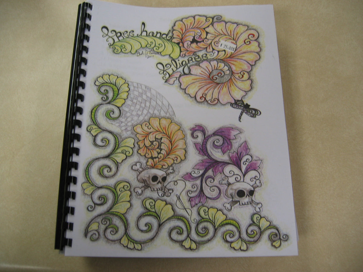 Free Hand Filigree booklet by Dusty Farrell