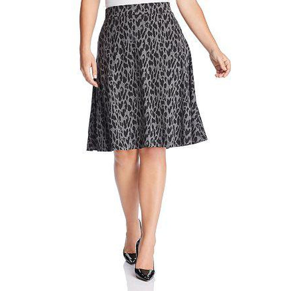 Estelle Leopard Skirt