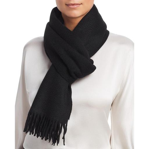 Eileen Fisher Womens Cashmere Fringe Decorative Scarf