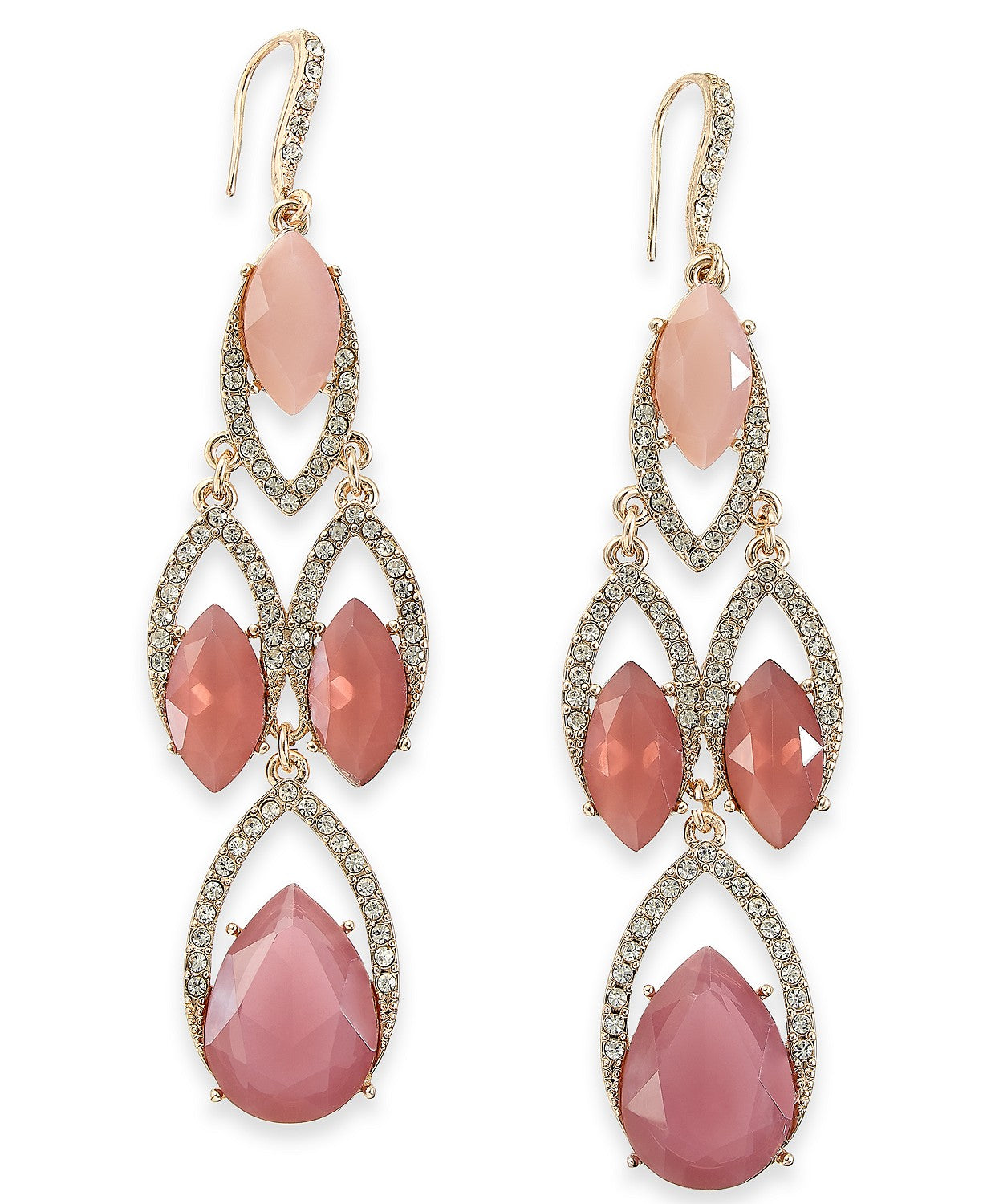 I.N.C. Crystal Chandelier Earrings