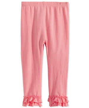 First Impressions Baby Girls Ruffled-Hem Leggings,