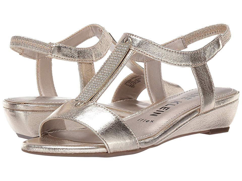 Anne Klein Melessa (Platino) Women's Wedge Shoes