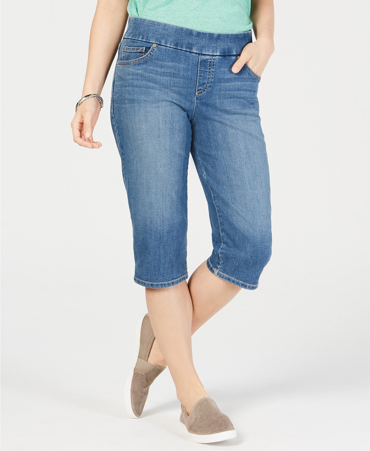 Style & Co Avery Pull-on Skimmer Jeans