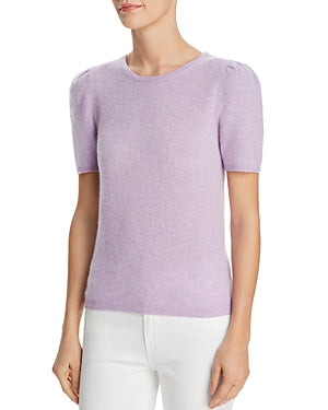 Major Store Puff-Sleeve Cashmere Sweater