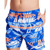 Nautica Mens Printed Beachwear Swim Trunks