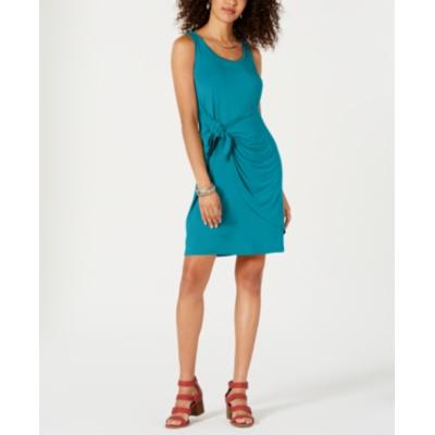 Style & Co Sleeveless Tie-Front Dress