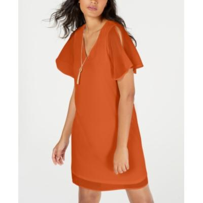 Thalia Sodi Necklace Shift Dress
