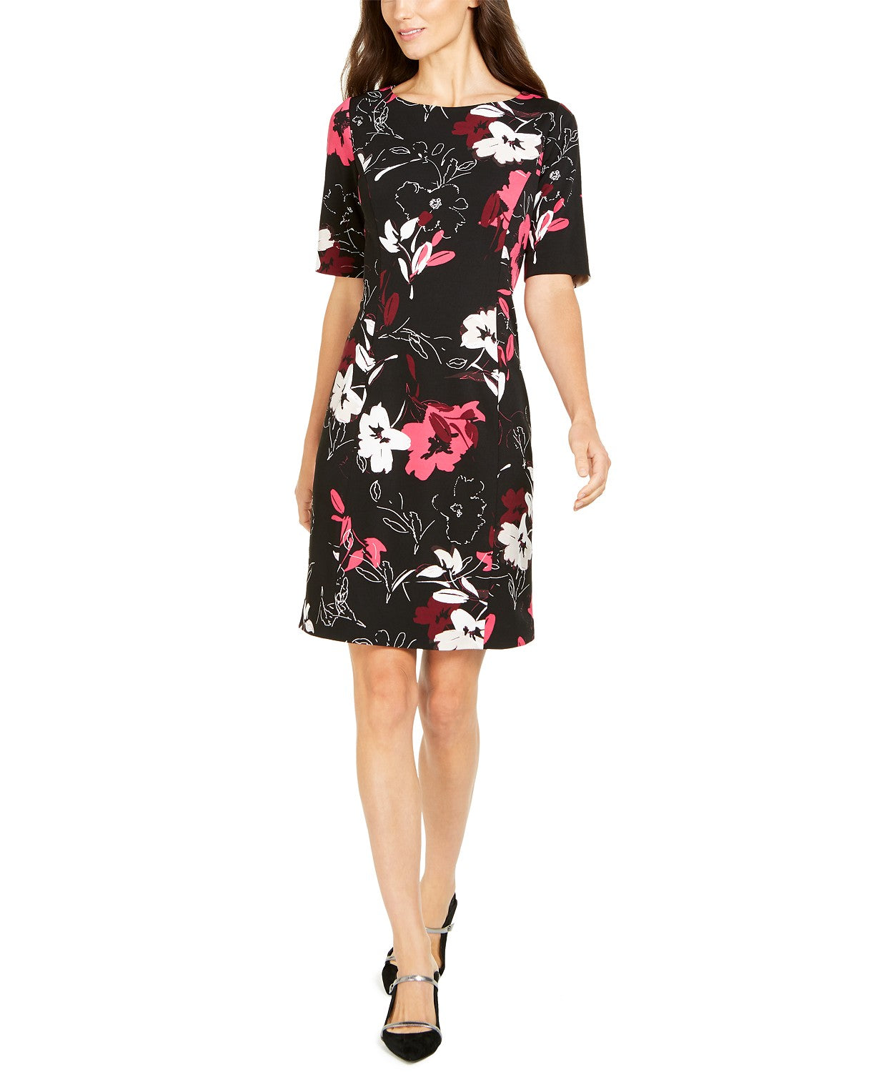 Alfani Petite Solid Sheath Dress