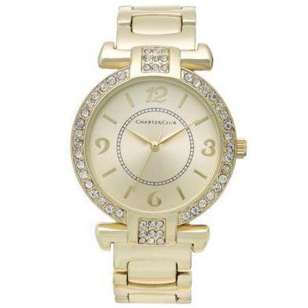 Charter Club Womens Gold-Tone Bracelet 25m