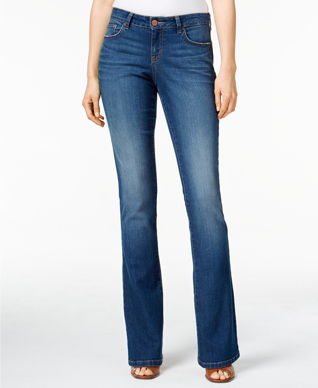 Style & Co Curvy-Fit Bootcut Jeans