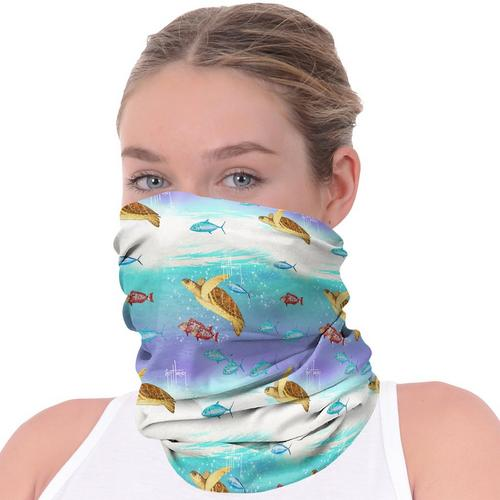 Guy Harvey Women's Turtles  & Neck Gaiter
