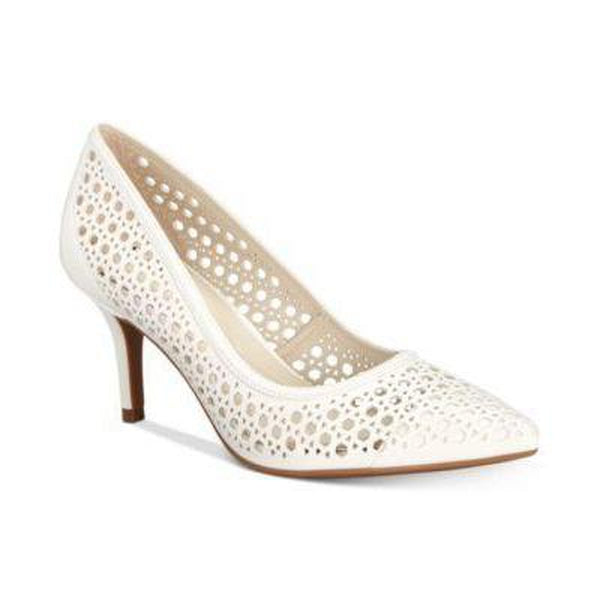 Alfani Womens Jennah Cutout Pointed- Cotton