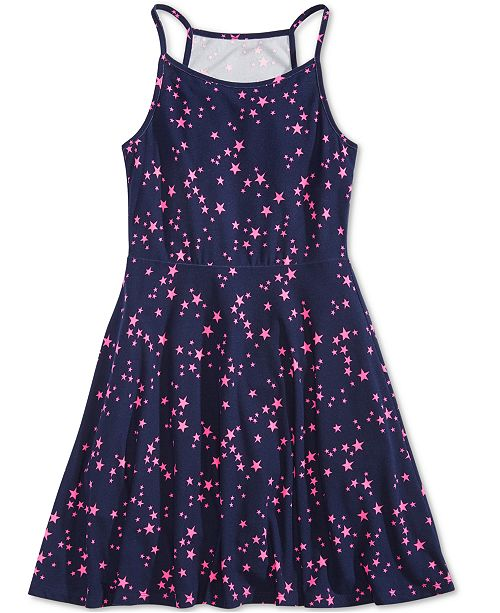 Epic Threads Big Girls Star-Print Skater Super-Soft Dress