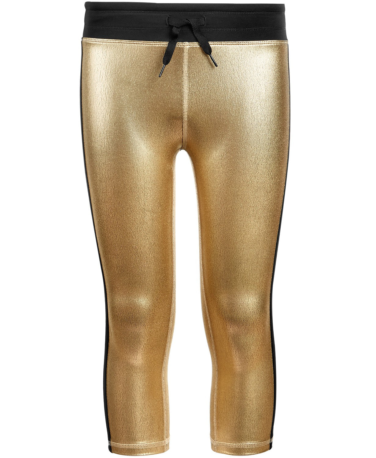 Ideology Big Girls Metallic Capri Leggings