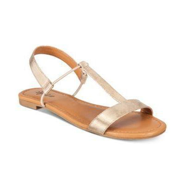 Style Co Kristee T-Strap Flat Sandals