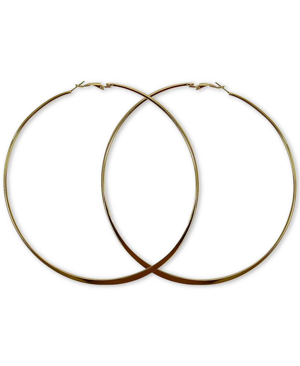 GUESS Extra-Large Hoop Earrings