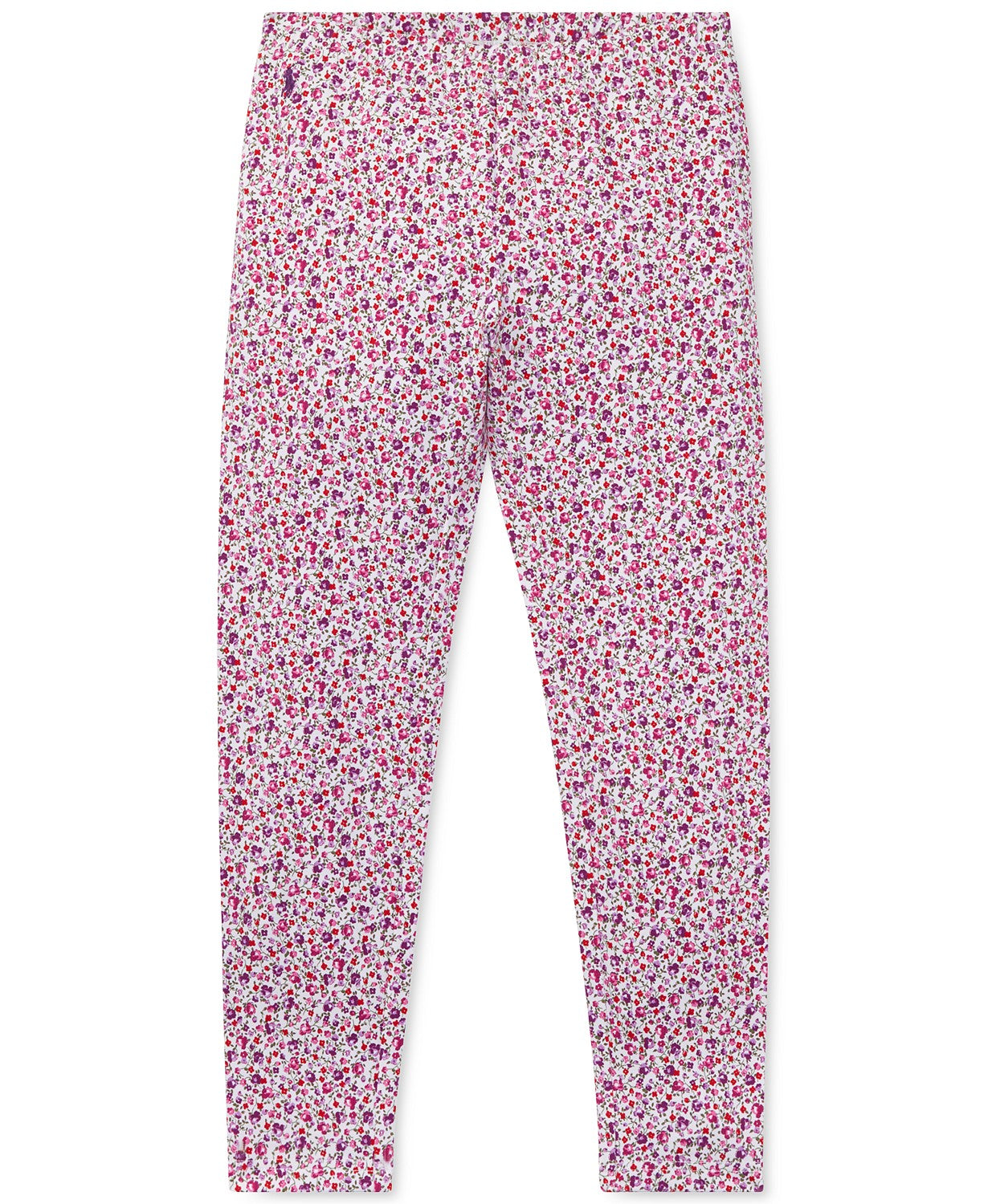 Ralph Lauren Childrenswear Purple Girls 7-16 Floral Jersey Legging
