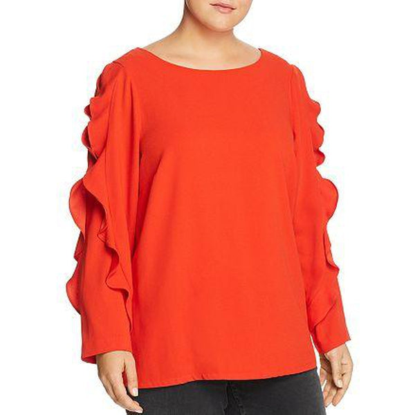Estelle Warm Heart Top Red