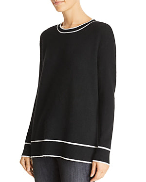 C By Bloomingdale's Tipped Cashmere Sweater