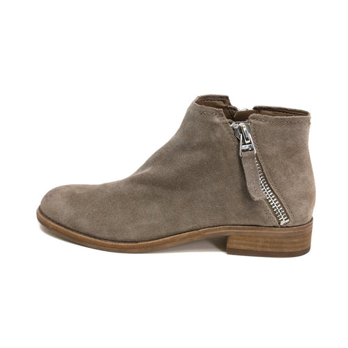 Dolce Vita Double Zip Bootie Taupe