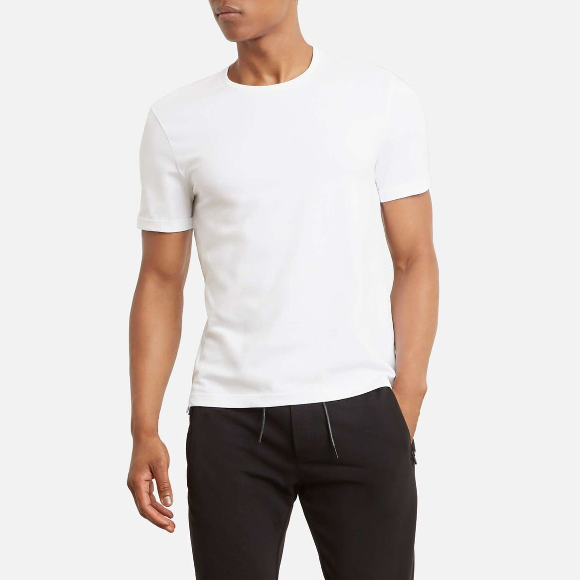 Kenneth Cole Short-Sleeve Crew Neck T-Shirt