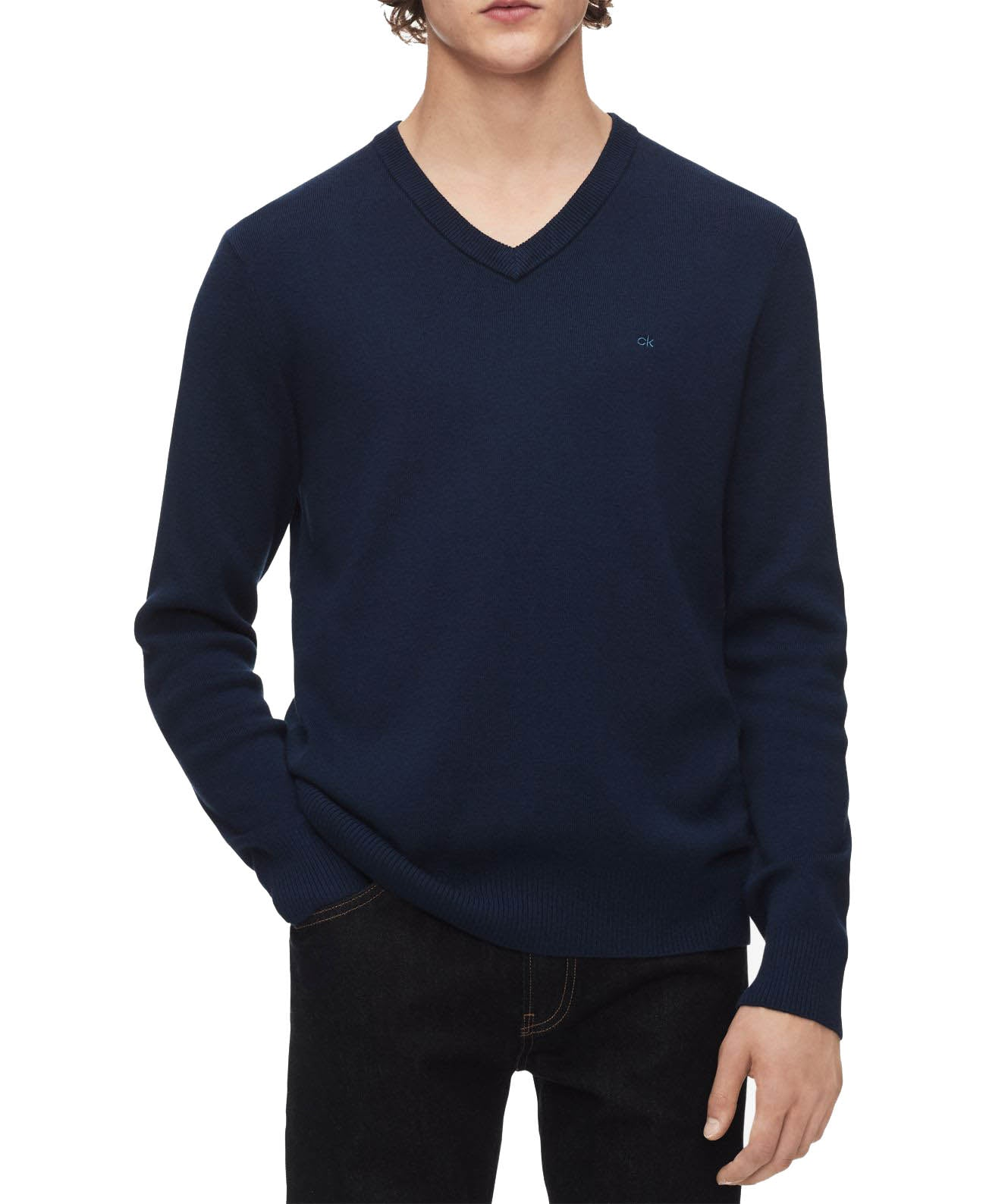 Calvin Klein Mens Ribbed Sweater