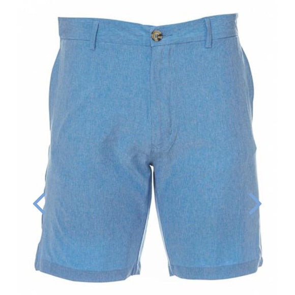 Tailorbyrd Blue Stretch Performance Shorts
