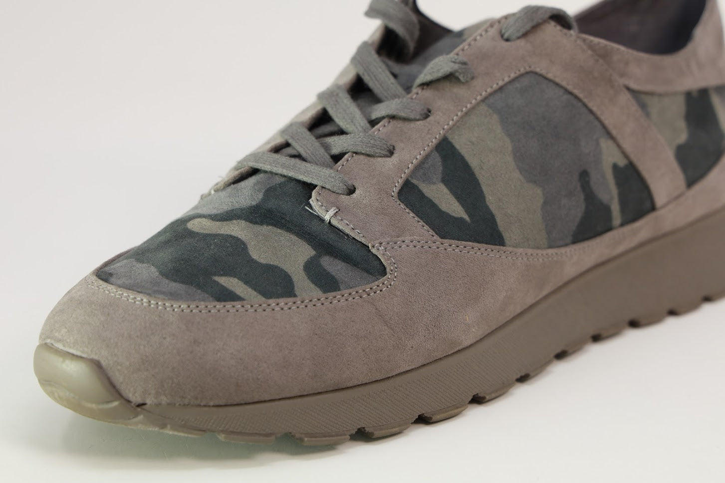 G.I.L.I. Lace-up Camo Sneakers- Janna