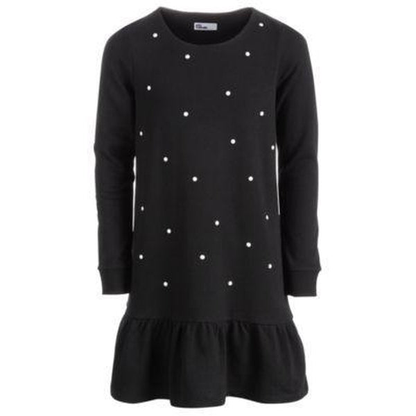 Epic Threads - Pearl Studded Dress Black