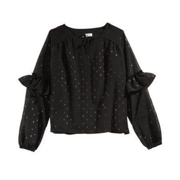 Epic Threads Big Girls Metallic Dot Top