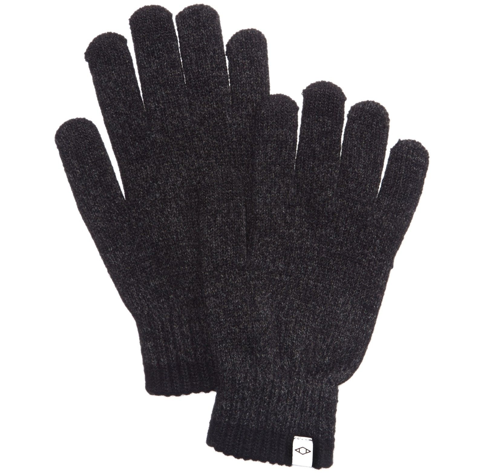 Alfani  Space-dyed Gloves Black Charcoal One Size