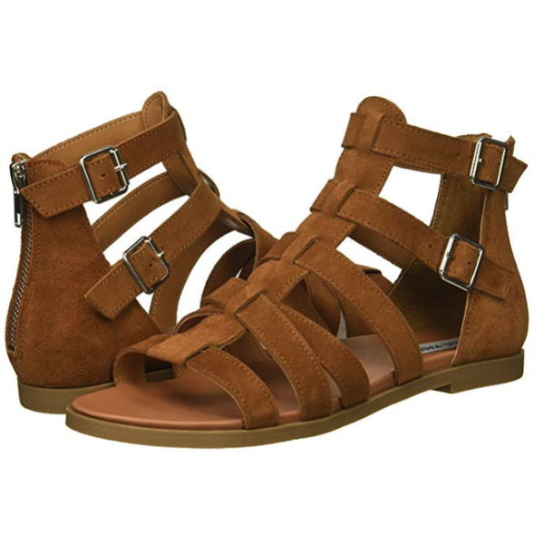 Steve Madden Womens Diver Gladiator Sandals