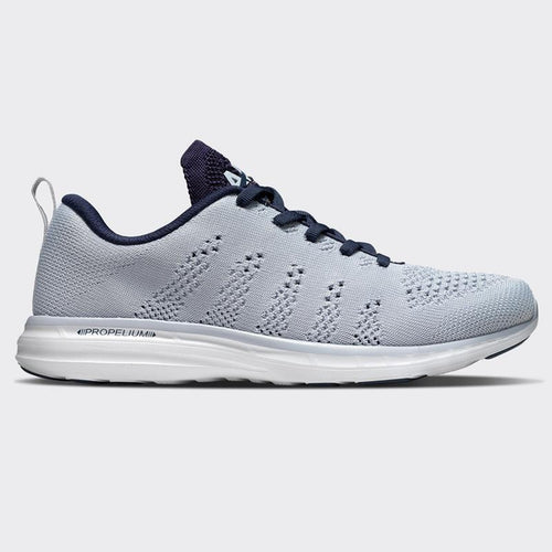 Men's Athletic Propulsion Labs Techloom Pro Running Shoes ICE/NAVY/WHITE