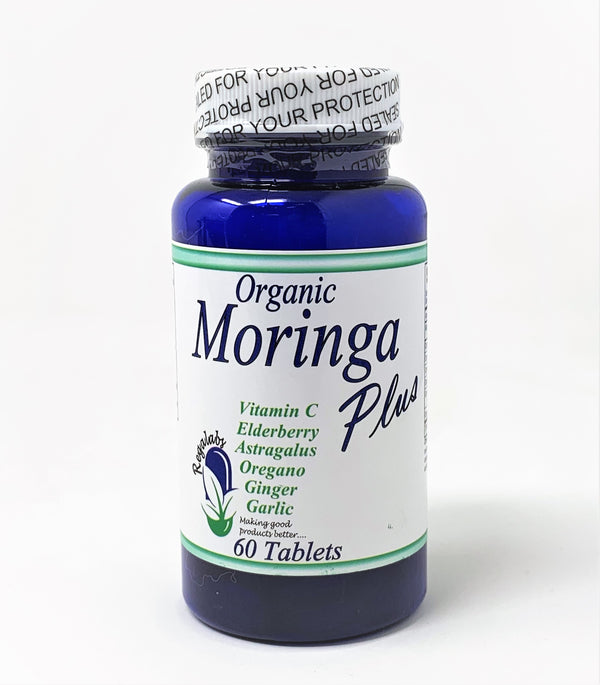 Organic Moringa Plus Tablets (60 Count)