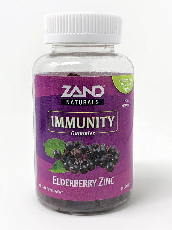 Elderberry Zinc Gummies 60 Count