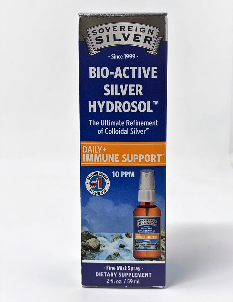 Sovereign Silver Bio-Active Hydrosol Fine Mist Spray 2oz