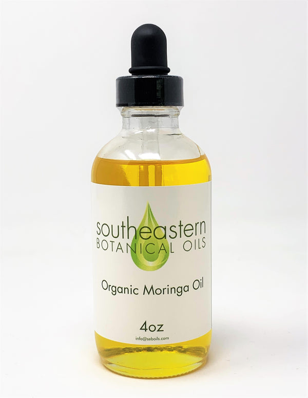 Organic Cold Pressed Moringa Seed Oil
