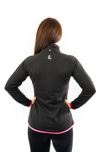 LWL x DELTA Performance Top 1/2 Zip - DELTA Fitness Apparel