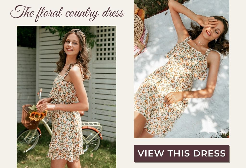 floral country dress