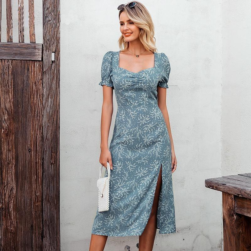 Boho Chic Straight Dress - S