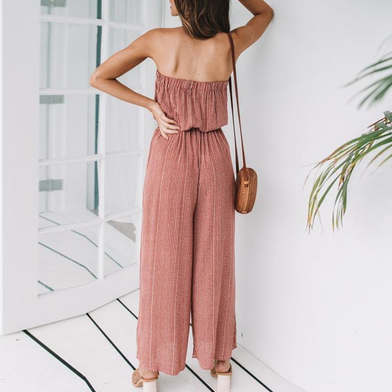 Jumpsuit Boho Style - Yellow / S