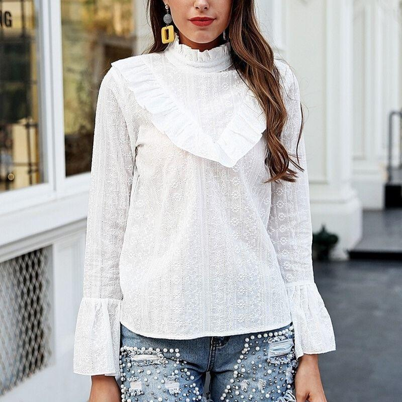 White Bohemian Blouse