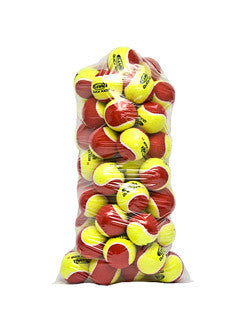 Stage 3 RED Quick Start Tennis Balls - GAMMA, WILSON or ONCOURT OFFCOURT