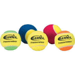 GAMMA® Pressureless Practice Tennis Balls 60 Ball Box