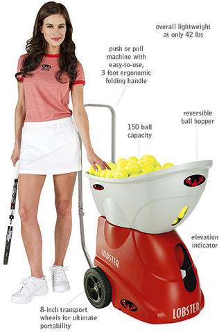 Tennis Ball Machine - Lobster ELITE I