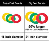 "Oncourt Offcourt Donuts - 15"" or 21"" Diameter"