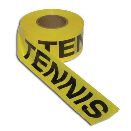 Oncourt Offcourt TENNIS Caution Tape