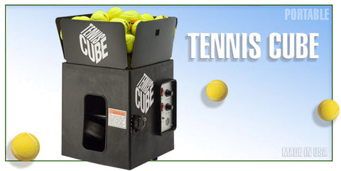Tennis Ball Machine - Sports Tutor TENNIS CUBE