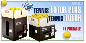 Tennis Ball Machine - Sports Tutor TENNIS TUTOR & TENNIS TUTOR PLUS